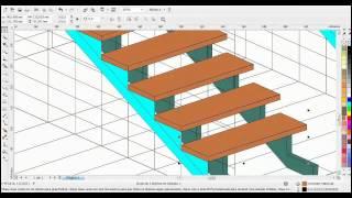 getlinkyoutube.com-COREL DRAW ( projetando escada 3d ).mp4
