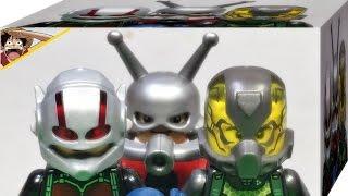 레고 앤트맨,행크 핌,옐로우 자켓 76039 미니피규어 소개 Lego Marvel Ant-Man,Yellow Jacket,Hank Pym Mini figures