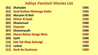 Aditya Pancholi Movies List