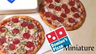 getlinkyoutube.com-Domino's Inspired Miniature Pizza - Polymer Clay Tutorial