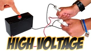 getlinkyoutube.com-How to Make a High Voltage Generator
