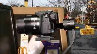 getlinkyoutube.com-The 3'rd Flight of TRD Beholder DS1 with FZ1000 レンズフードを外してみたら