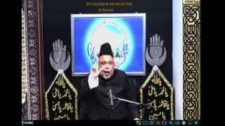 getlinkyoutube.com-Majlis 03 - Maulana Sadiq Hasan - 2nd Muharram 1436 - 2014