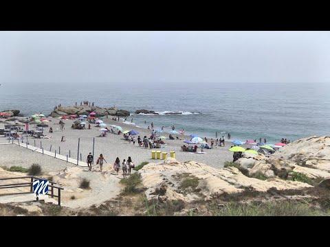 Control en el aforo de playas