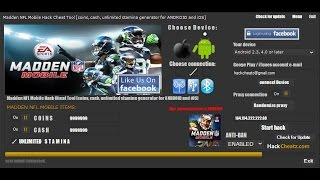 getlinkyoutube.com-Madden Mobile 17 Unlimited Coins Hack!!! Software Bug!!!