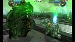 getlinkyoutube.com-Godzilla Unleashed: Obsidius vs. Biollante