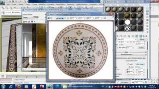 getlinkyoutube.com-enterance scene material setup vray 002 عمل خامات مشهد مدخل بالفيراي