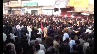 getlinkyoutube.com-Markazi Jaloos 10 muharam 2014 jhang sadar on Multan  Road