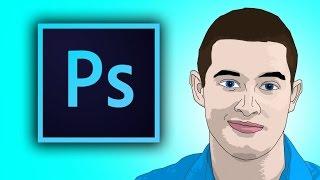 getlinkyoutube.com-How To Cartoon Yourself In Photoshop CC