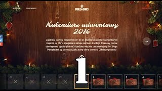 getlinkyoutube.com-WoT ► Kalendarz Adwentowy 2016 ► dzień 1► dla kolekcjonerów