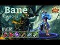 Mobile Legends: Bane MVP, Best Damage Build!