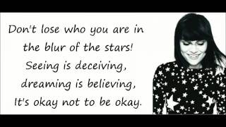 getlinkyoutube.com-Jessie J - Who You Are (Lyrics On Screen)
