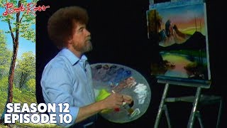 getlinkyoutube.com-Bob Ross - Mountain at Sunset (Season 12 Episode 10)