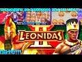 LIVE PLAY on Leonidas II Slot Machine W Nate Potater Showcasing all 3 Bonuses