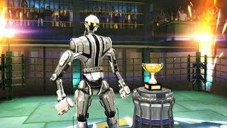 getlinkyoutube.com-Real Steel Champions | Final TOURNAMENT | Albino VS Noisy Boy NEW ROBOTS GAME (Живая сталь)