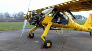 getlinkyoutube.com-PZL 104 WILGA ENGINE START UP AFTER LONG STOP HD