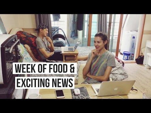 Week of Yummy Food & Exciting News | 이번주엔 좋은 소식을 들고왔어요! (자막 CC)
