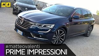 getlinkyoutube.com-Renault Talisman Sporter SW | Prime impressioni