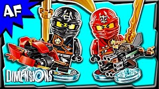 getlinkyoutube.com-Lego Dimensions NINJAGO Team Pack 3-in-1 Build Review 71207