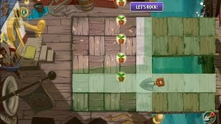 getlinkyoutube.com-Plants vs Zombies 2 - Unknown Minigame: Sprout Planting