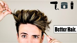 getlinkyoutube.com-4 Mens Hair Hacks to Make Your Hairstyle BETTER