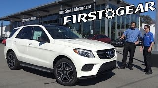 getlinkyoutube.com-First Gear - 2017 Mercedes-Benz GLE350 - Review and Test Drive