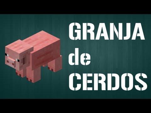 Granja Automática de Cerdos - Fábricas y Granjas Automáticas (Español) - Barcelona Minecraft