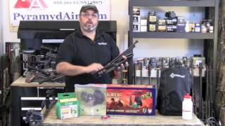 "getlinkyoutube.com-Crosman Doomsday Bug Out Air Rifle .22 ""Backpacker"" kit - Product Review"