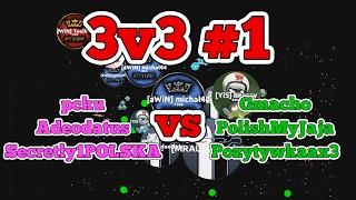 Bubble.am - 3v3 #1 - pcku, Adeodatus, Secretly1POLSKA vs Gmacho, Pozytywkaax3, PolishMyJaja