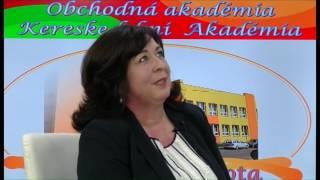 Mgr. Blanka Tomčová – riaditeľka  Obchodná akadémia - Rimavská Sobota