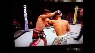 getlinkyoutube.com-UFC Fight Of The Year 2014?  Abel Trujillo knockouts Jamie Varner