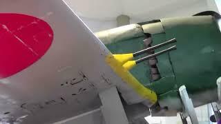 海底から引き上げられた紫電改 The fighter of Japan