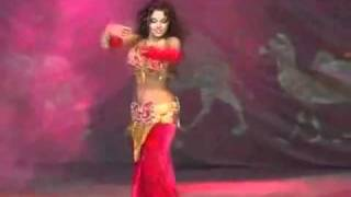 Santana ~ Black Magic Woman with sensational belly dancer width=