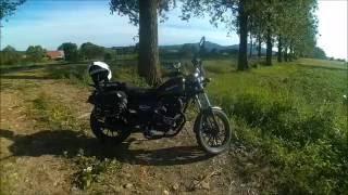 getlinkyoutube.com-[HD] Test i prezentacja Benyco Cruiser 125 | motocykle-125.com.pl