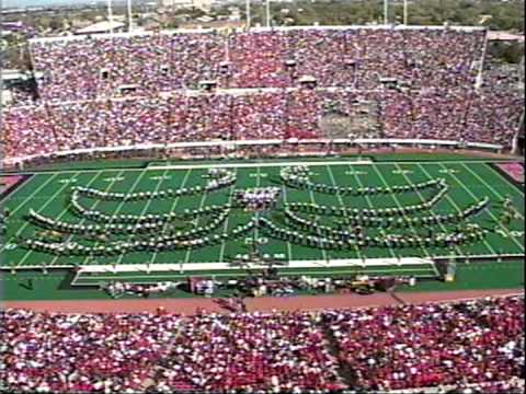 Texas Tech Patriotic Show 2001