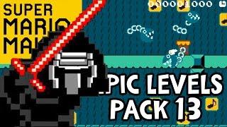 getlinkyoutube.com-STAR WARS MARIO?!? Super Mario Maker Gameplay - Epic Levels Pack #13 (Wii U 1080p 60fps)
