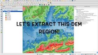 getlinkyoutube.com-QGIS Tutorial 1: Generating watersheds from DEM