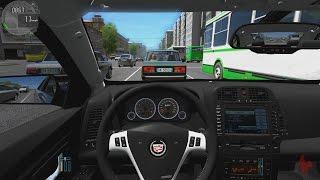 getlinkyoutube.com-City Car Driving - Cadilac CTS-V