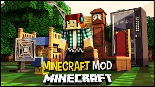 getlinkyoutube.com-Minecraft Realista (Carros Detalhados, Tvs, Computador) !! - Real Life Mod