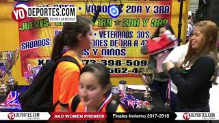 Futbol Femenil AKD Women Premier Academy Soccer League