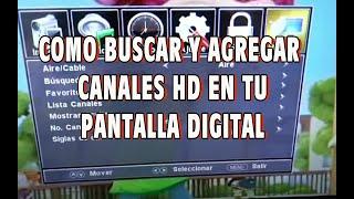 getlinkyoutube.com-COMO BUSCAR  CANALES DE TV HD EN TU PANTALLA DIGITAL