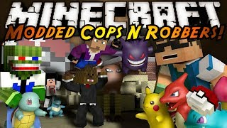getlinkyoutube.com-Minecraft Mini-Game : MODDED COPS N ROBBERS! POKEMON!