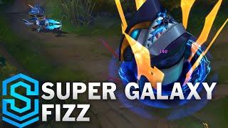 getlinkyoutube.com-Super Galaxy Fizz Skin Spotlight - Pre-Release - League of Legends