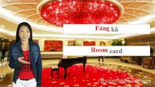 getlinkyoutube.com-Learn Chinese: Lesson 6 - Hotel Checking In