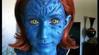 getlinkyoutube.com-How to Become Mystique from X-Men