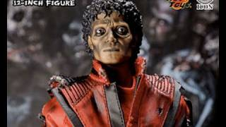 getlinkyoutube.com-Michael Jackson Hot Toys Thriller Zombie Version 1/6 Scale Collectible Figure Review