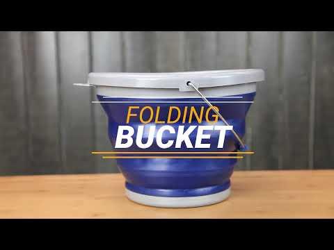 Caribee Folding Bucket 10L