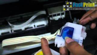 getlinkyoutube.com-VIDEO TUTORIAL CARA SEDOT CARTRIDGE DAN MEMBERSIHKAN HEAD PRINTER EPSON L210