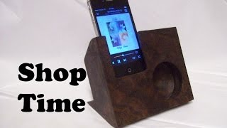 getlinkyoutube.com-How To Make A Wooden Speaker