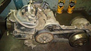 getlinkyoutube.com-139 двигатель от скутера.